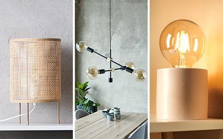 Olohuoneen huonekaluja eri sisustustyyleihin
