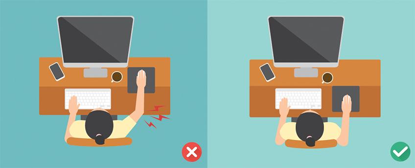 Ergonominen työasento ja ergonomia toimistotyössä on tärkeää terveyden kannalta
